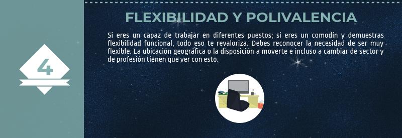 Flexibilidad y polivalencia