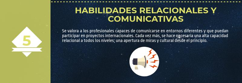 Habilidades relacionales y comunicativas