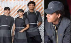 Imagen de trabajadores con el último uniforme